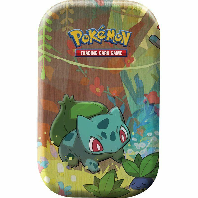 Pokemon Bisasam Mini Tin Box