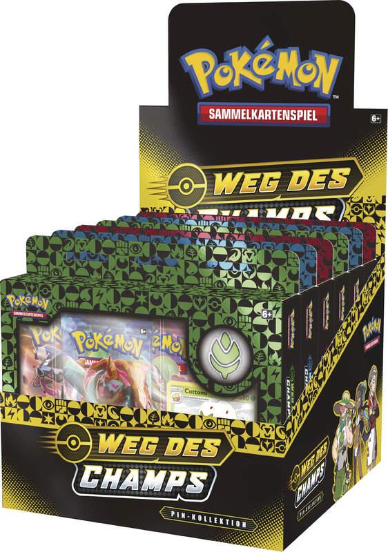 Pokemon Schwert & Schild 3.5 Weg des Champs Pin Box