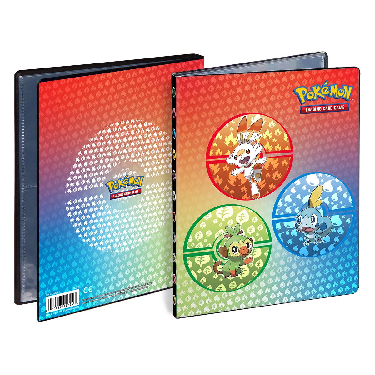 Pokemon Galar Starter Sammelalbum A5