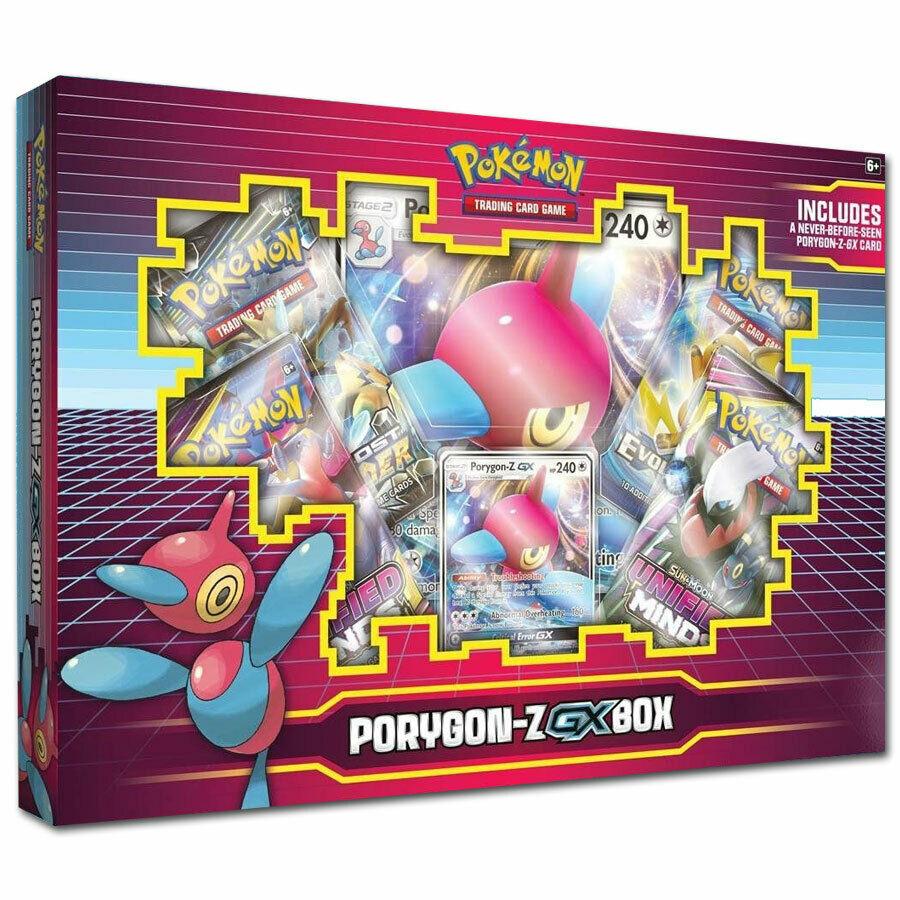 Pokemon Porygon-Z GX Kollektion Box