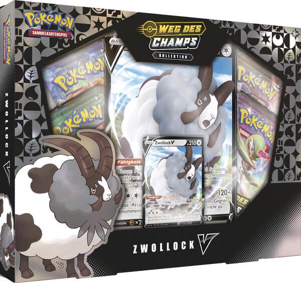 Pokemon Schwert & Schild 3.5 Weg des Champs Zwollock V Box
