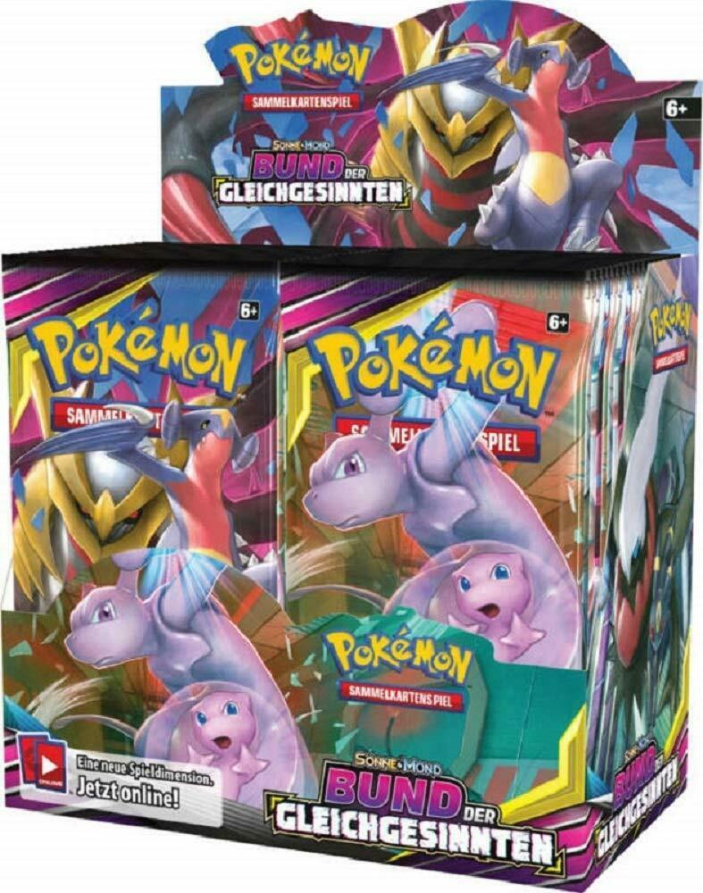 Pokemon Booster Pack Sonne & Mond Bund der Gleichgesinnten