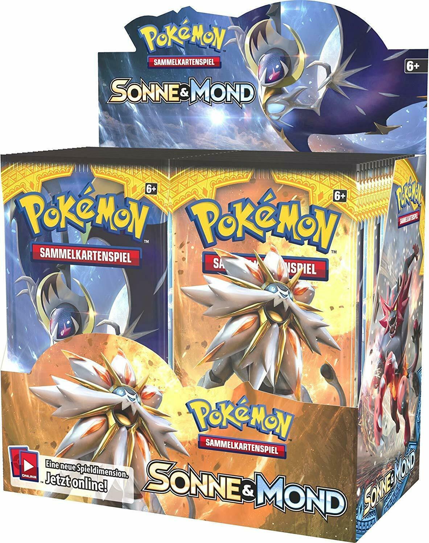 Pokemon Booster Pack Sonne & Mond