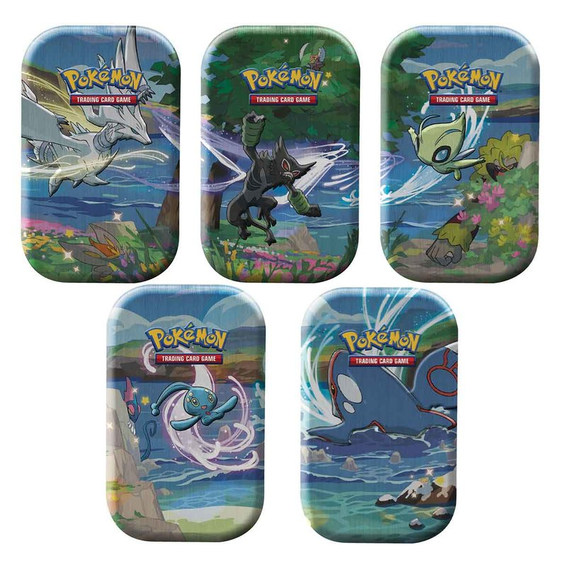 Pokemon Glänzendes Schicksal Mini Tin 5er Artwork Set