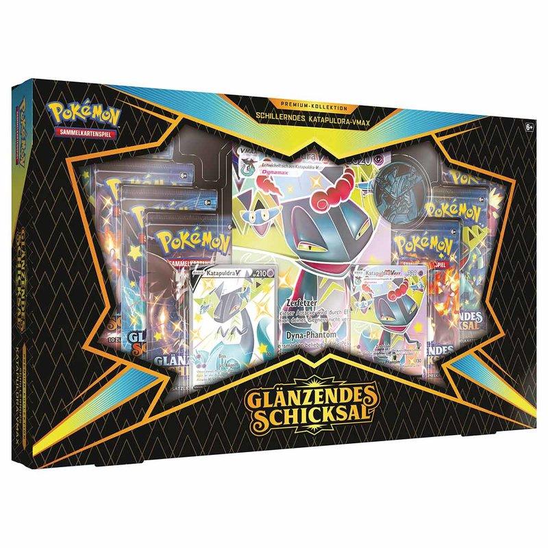 Pokemon Glänzendes Schicksal Premium Kollektion Schillerndes Katapuldra VMAX