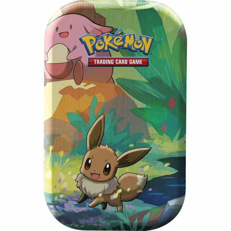 Pokemon Evoli Mini Tin Box