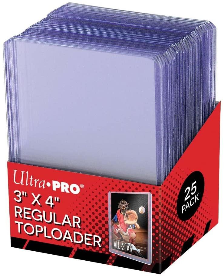 Ultra Pro Regular Toploader 3x4 25 Stück