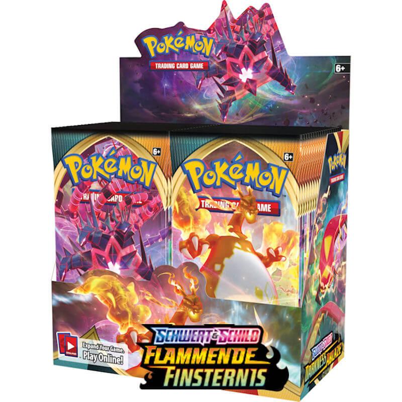 Pokemon Schwert & Schild Flammende Finsternis Booster Display VORBESTELLUG
