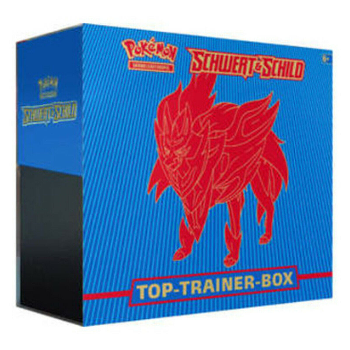 Pokemon Top Trainer Box Schild