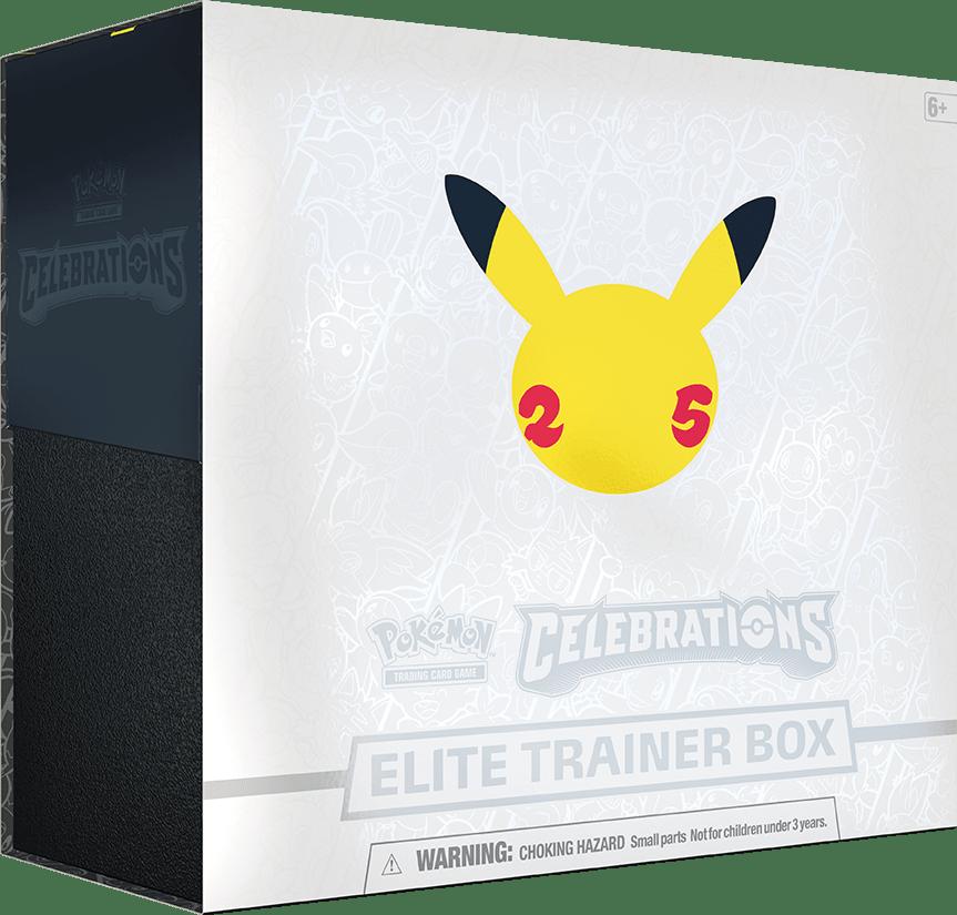 Pokemon Celebrations Elite Trainer Box 25th Anniversary ENGLISCH VORBESTELLUNG
