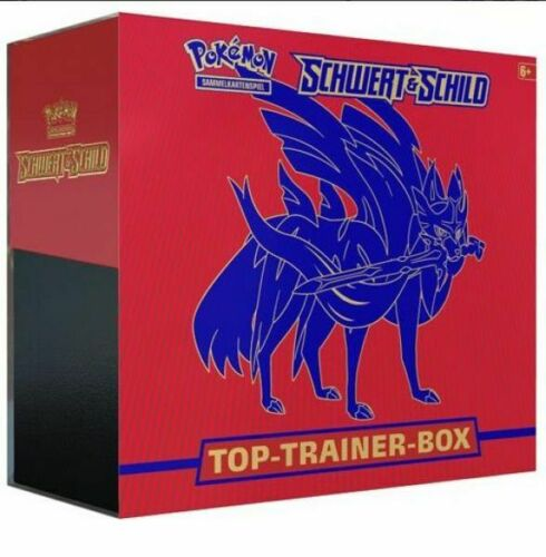 Pokemon Top Trainer Box Schwert