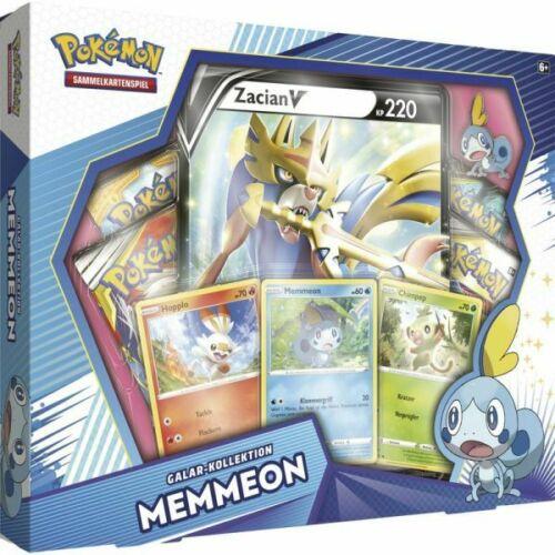 Pokemon Memmeon Galar Kollektion Box