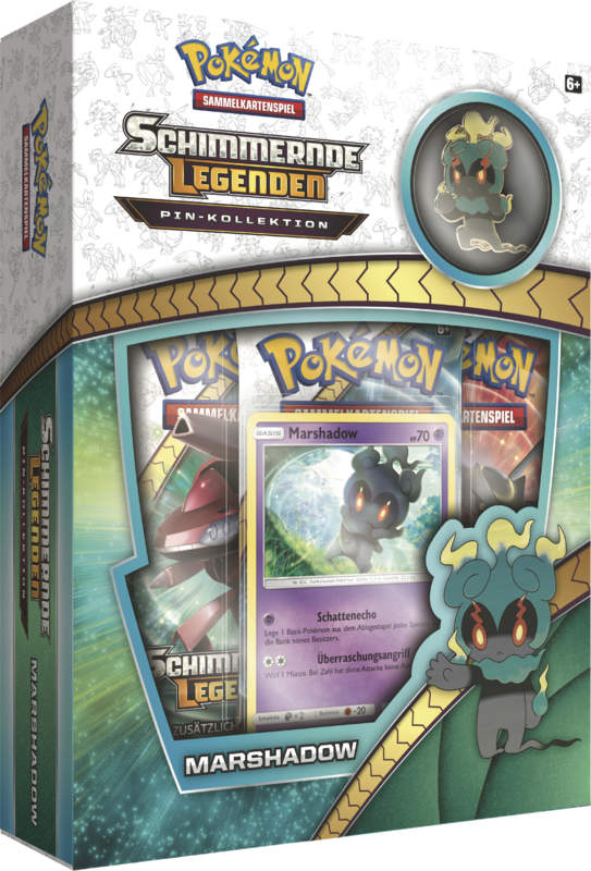 Pokemon Sonne & Mond 3.5 Schimmernde Legenden Marshadow Pin Box