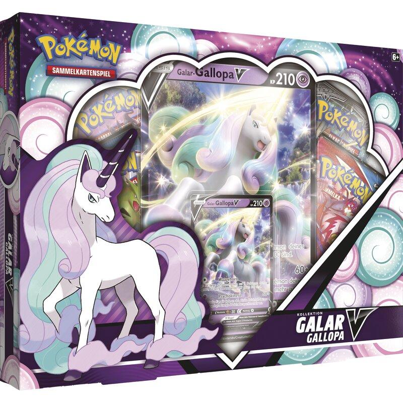Pokemon Galar Gallopa V Box