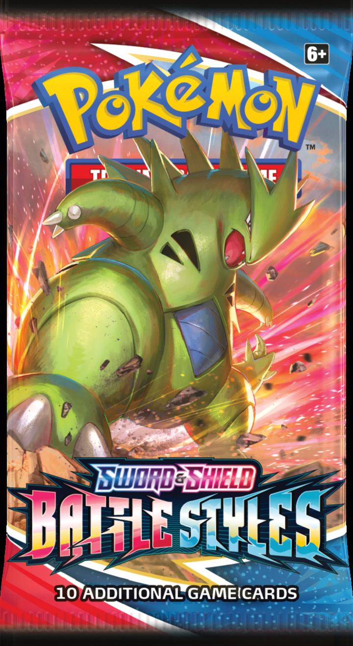 Pokemon Sword & Shield Battle Styles Einzelbooster ENG