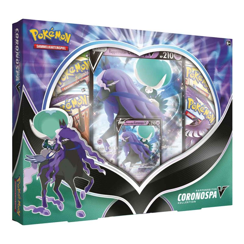 Pokemon Rappenreiter Coronospa V Box