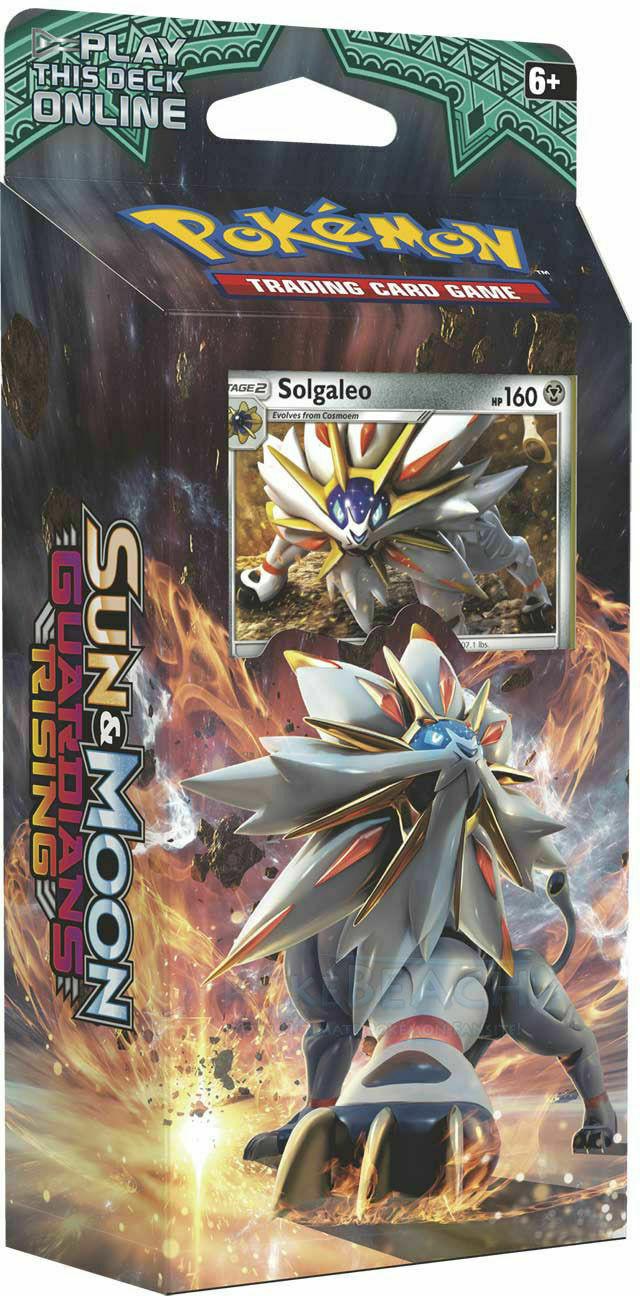 Pokemon Themendeck Stahlsonne Solgaleo