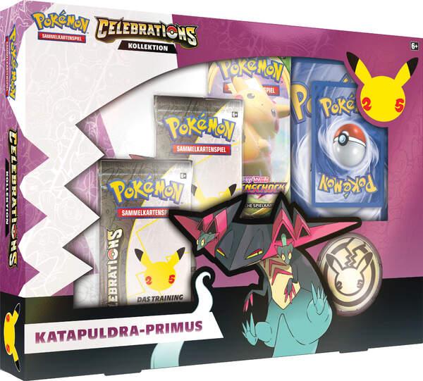 Pokemon 25th Anniversary Kollektion Katapuldra