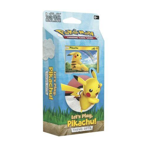 Pokemon Themendeck Let's Play Pikachu