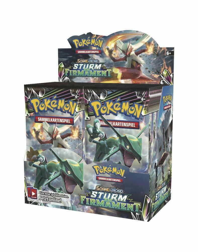 Pokemon Booster Pack Sonne & Mond Sturm am Firmament