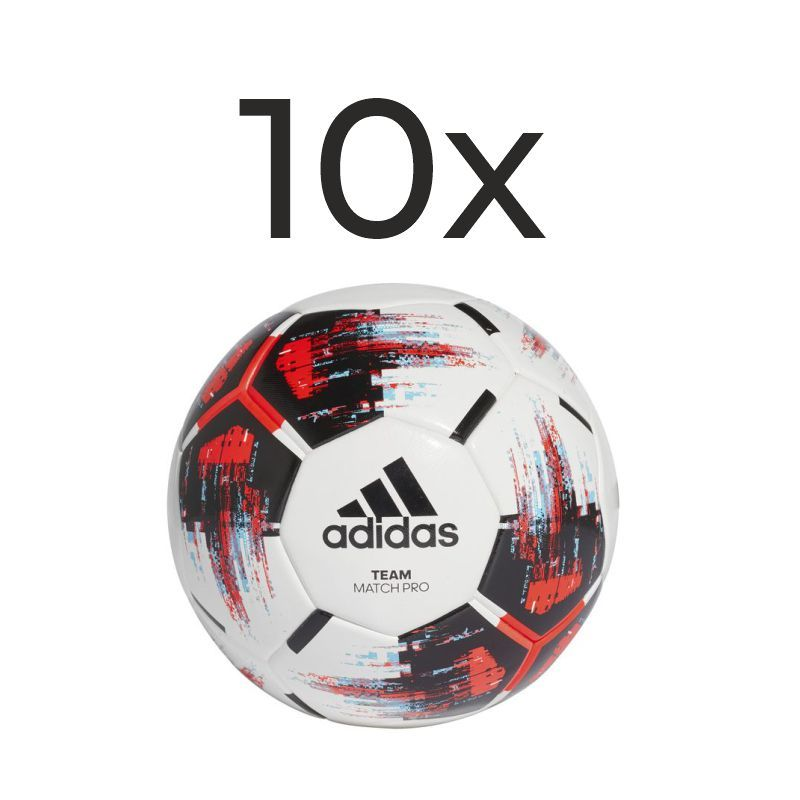 Adidas Team Match Ball Gr.5 10er Set