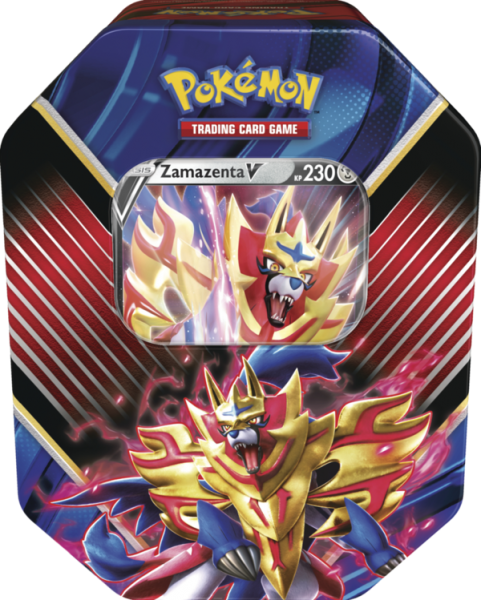Pokemon Zamazenta TIn Box