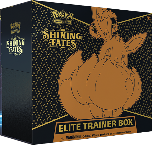 Pokemon Shining Fates Elite Trainer Box englisch
