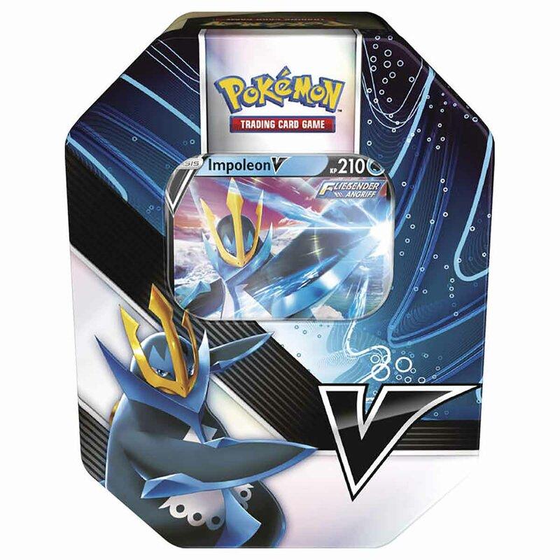 Pokemon Impoleon V Tin Box