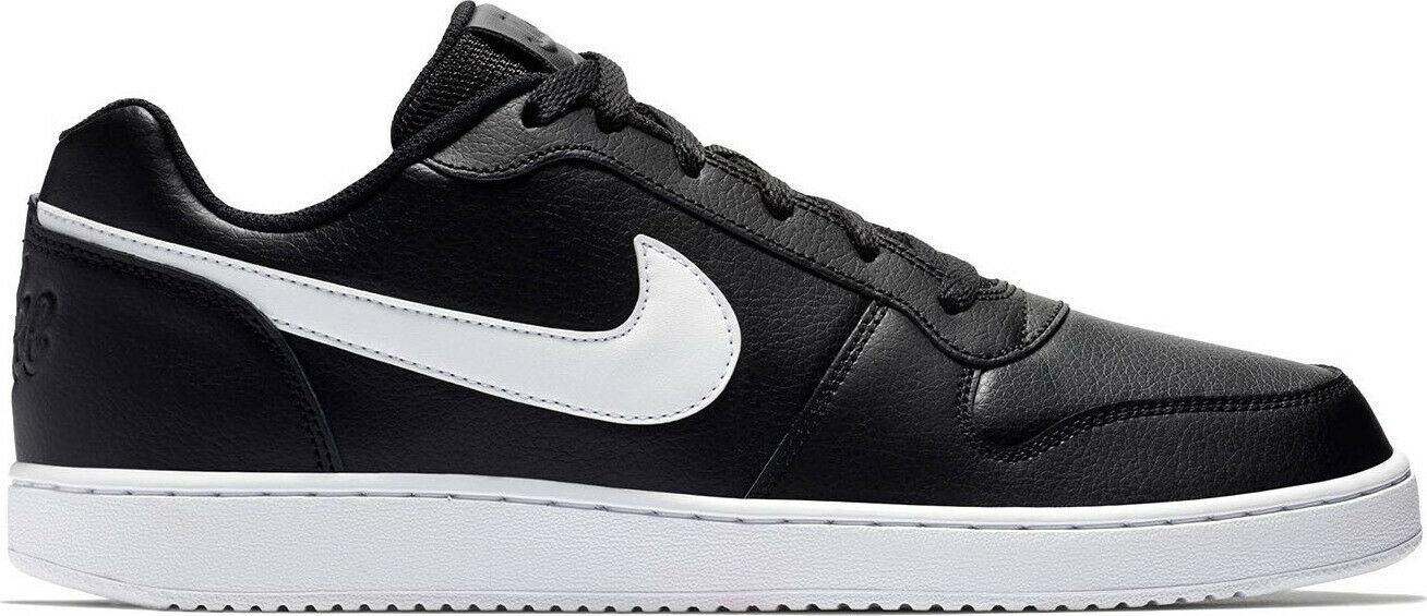 Nike Ebernon Low Herren Sneaker AQ1775 002 schwarz