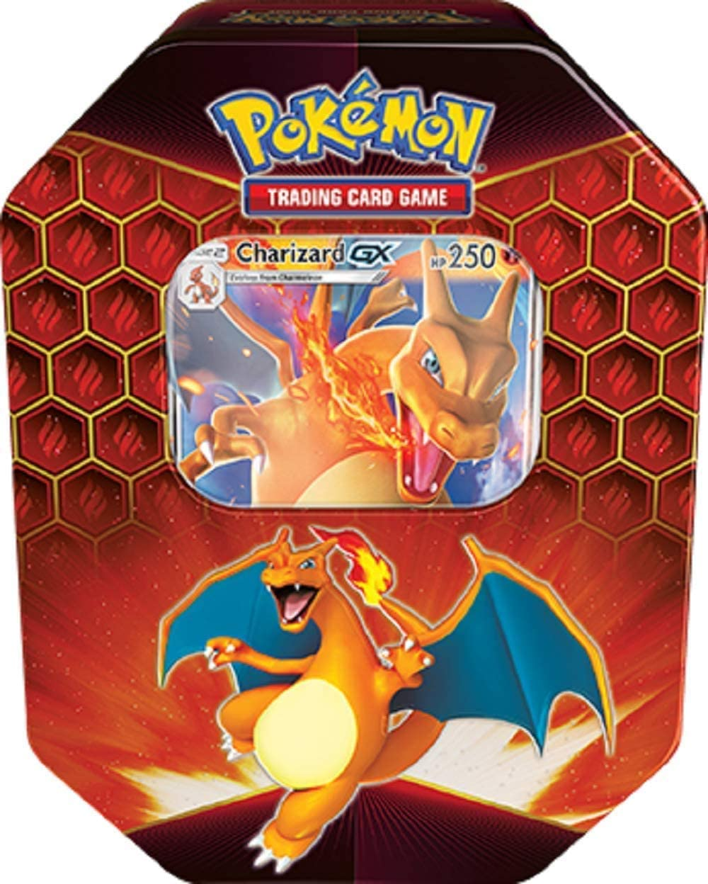 Pokemon Hidden Fates Tin Box Charizard