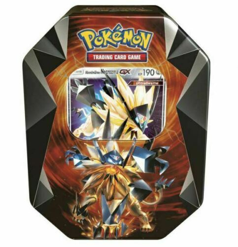 Pokemon Abendmähne Necrozma GX Tin Box