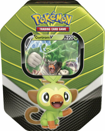 Pokemon Gortrom V Tin Box