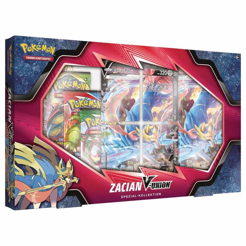 Pokemon Zacian-V-Union Spezial-Kollektion