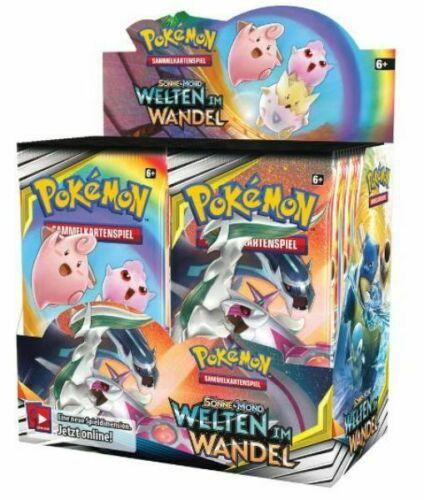 Pokemon Booster Pack Sonne & Mond Welten im Wandel