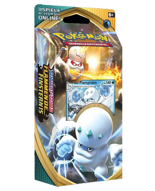 Pokemon Themendeck Galar-Flampivian