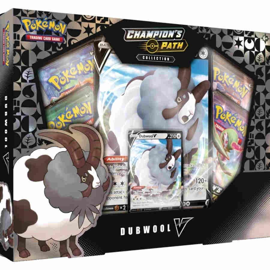 Pokemon Schwert & Schild 3.5 Champions Path Dubwool V Box Englisch