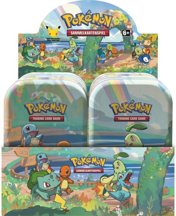 Pokemon 25th Anniversary Mini Tin Display