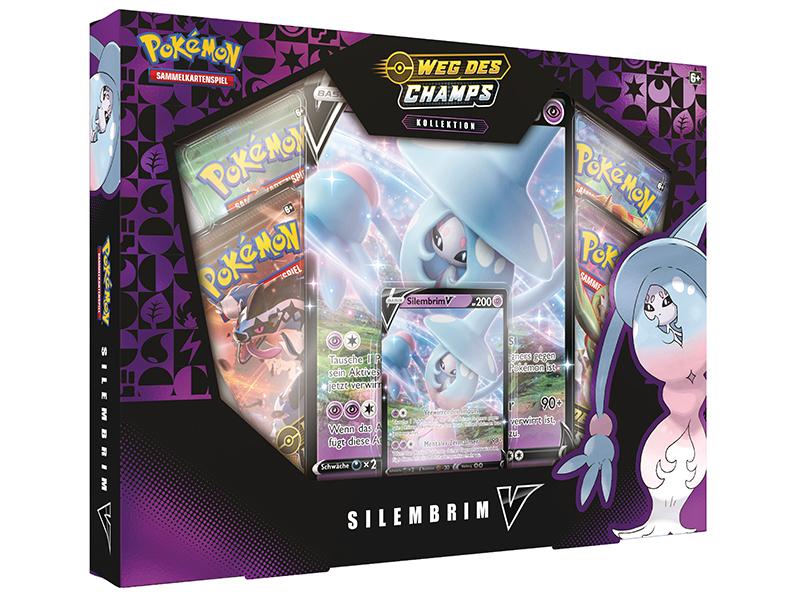 Pokémon Schwert & Schild 3.5 Weg des Champs  Silembrim V Box