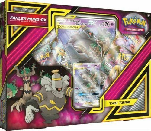 Pokemon Fahler Mond GX Kollektion Box