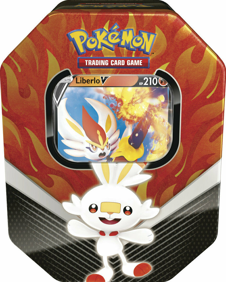 Pokemon Liberlo V Tin Box