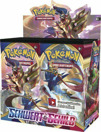 Pokemon Schwert & Schild Base Set Booster Display