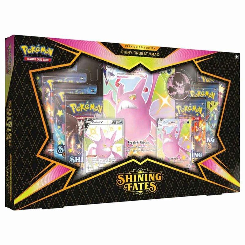 Pokemon Shining Fates Premium Collection Shiny Crobat VMAX englisch