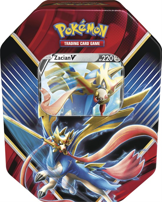 Pokemon Zacian Tin Box