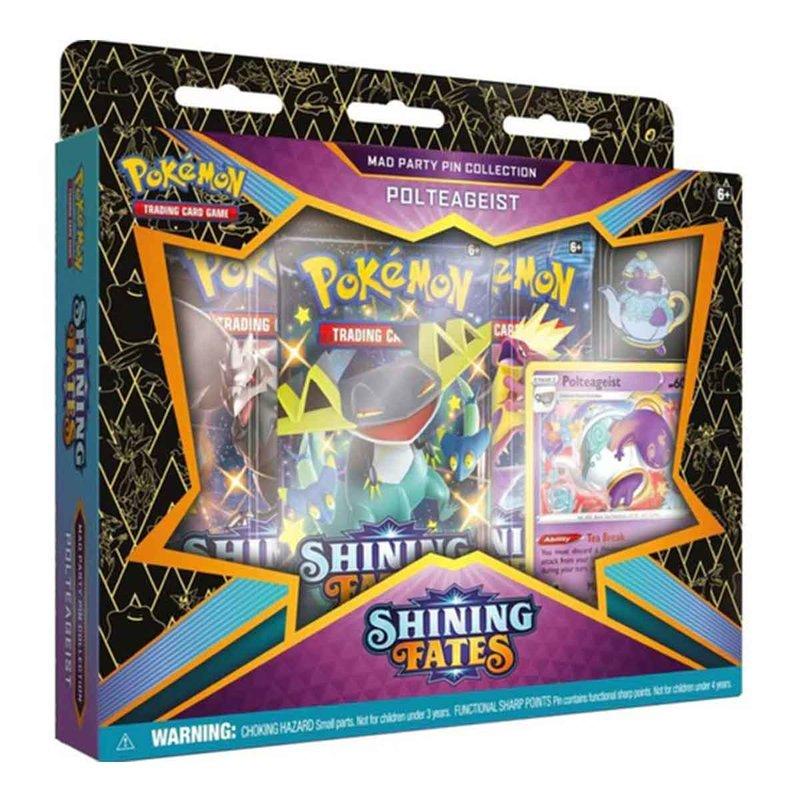 Pokemon Shining Fates Pin Collection Polteageist english