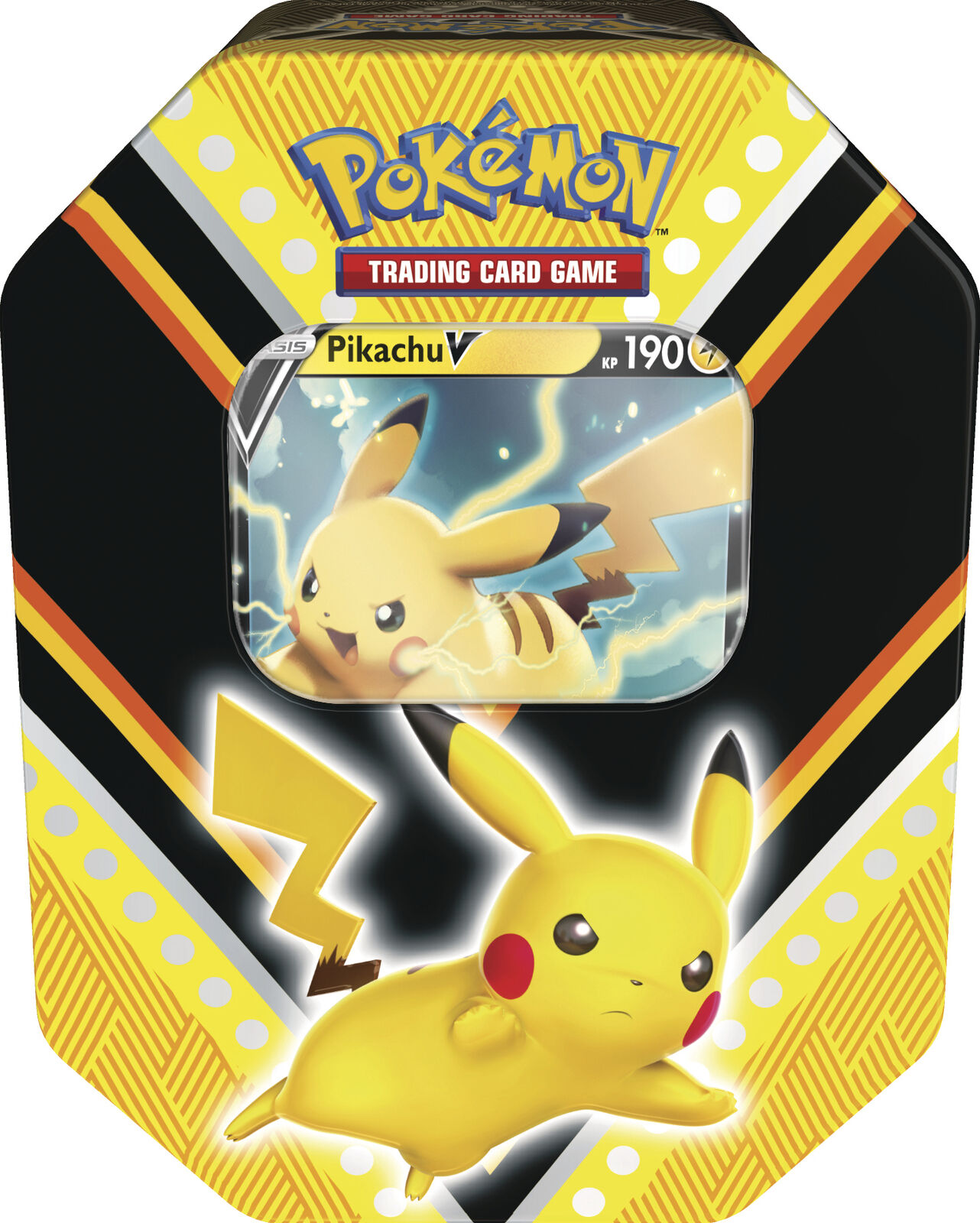 Pokemon Tin Box 88 Pikachu-V