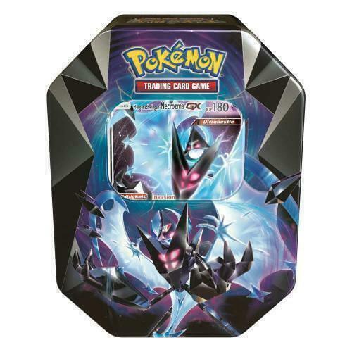 Pokemon Morgenschwingen Necrozma GX Tin Box