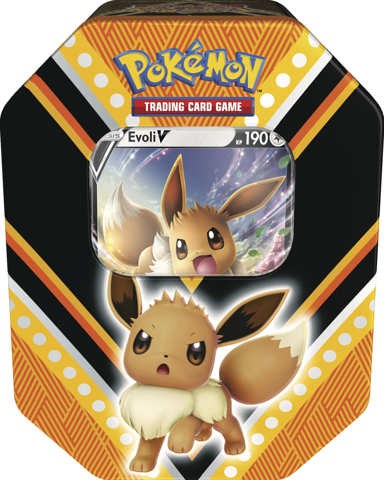 Pokemon Tin Box 89 Evoli-V