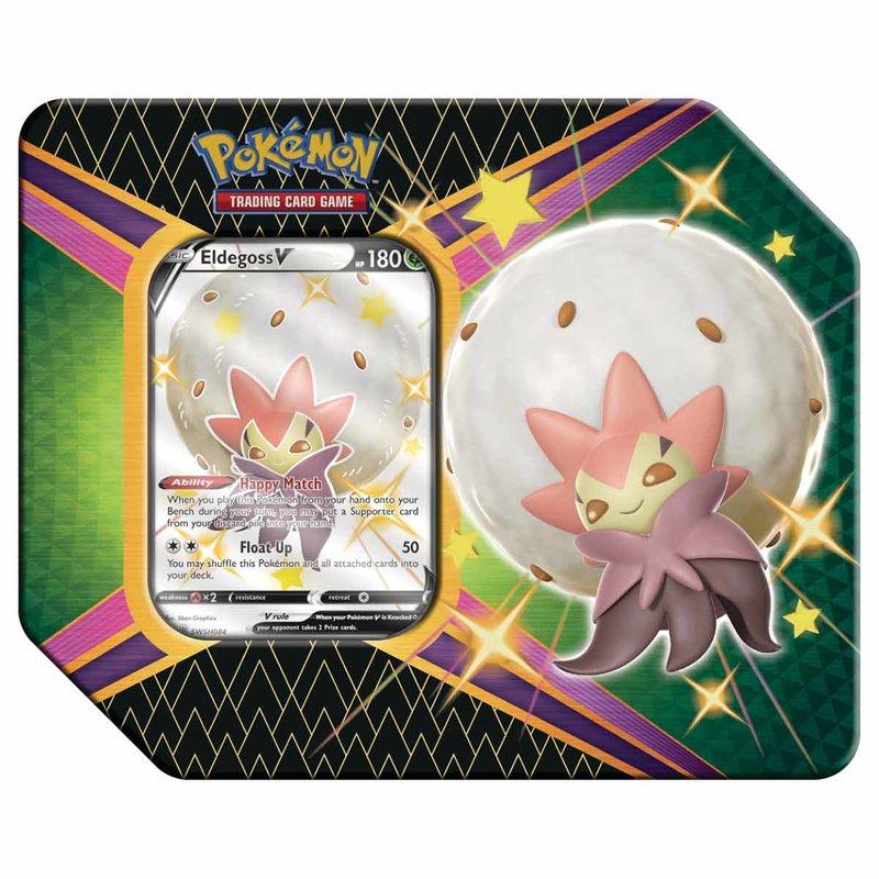 Pokemon Tin Box SWSH 4.5 Shining Fates Eldegoss V english