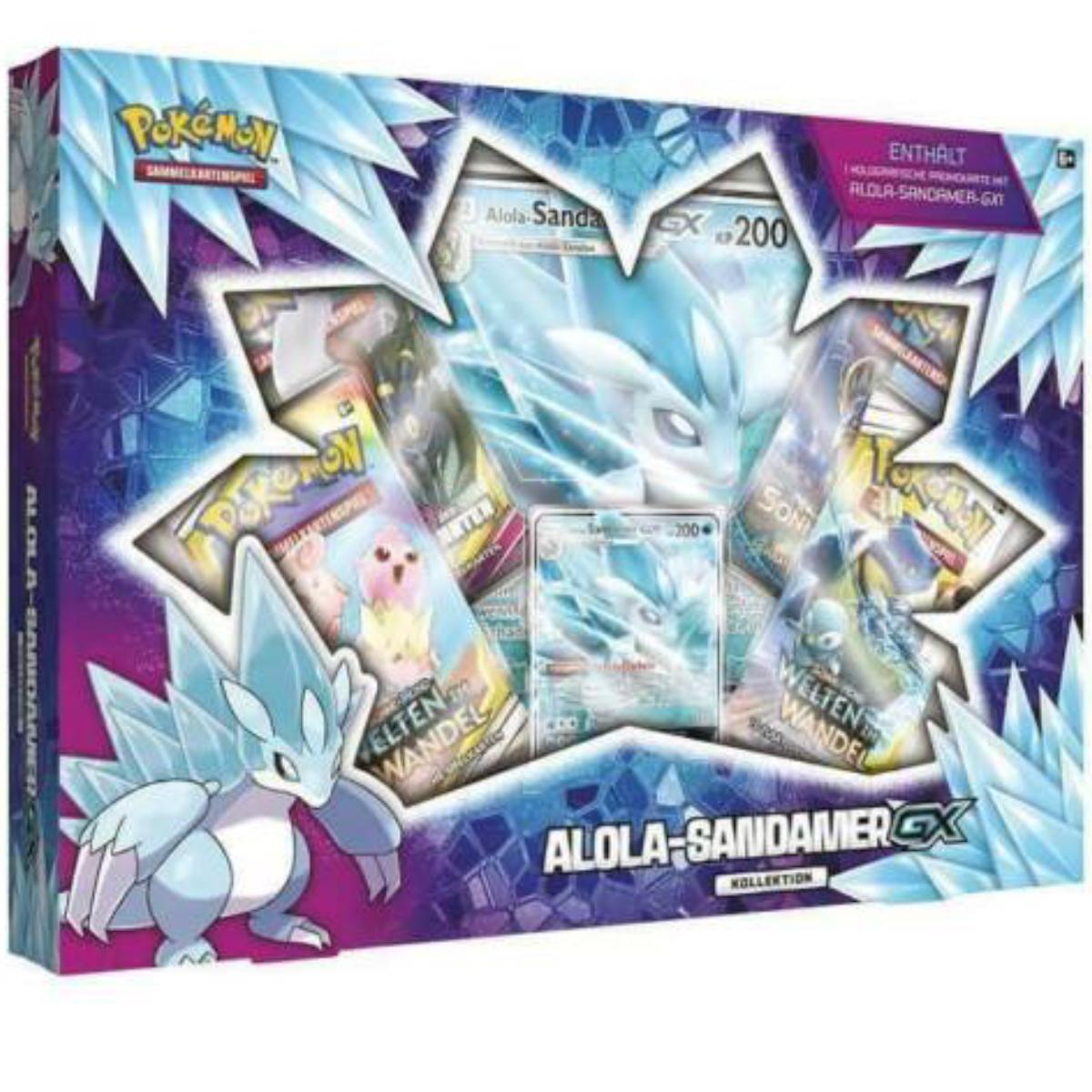 Pokemon Alola Sandamer GX Kollektion Box