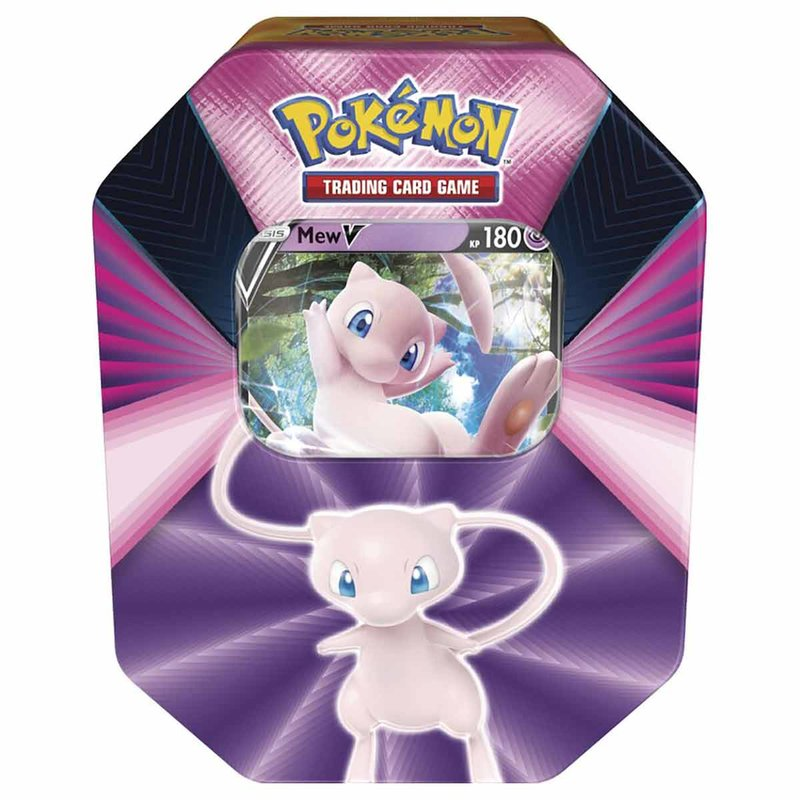 Pokemon Mew V Tin Box